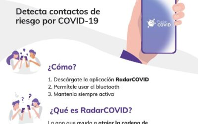 Appeal to the population to install the Radar Covid application